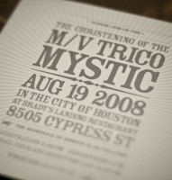 Trico Mystic Christening Invitation