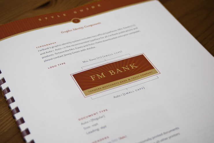 Farmers Merchants Bank Identity