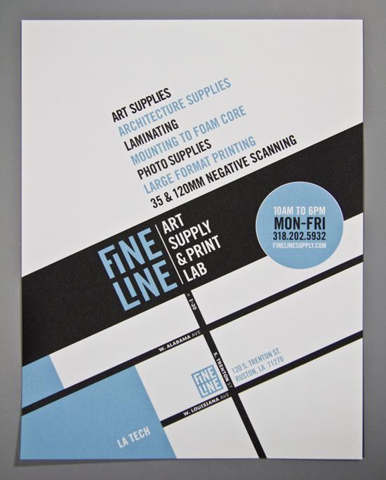 Fine Line Promotional Flyer