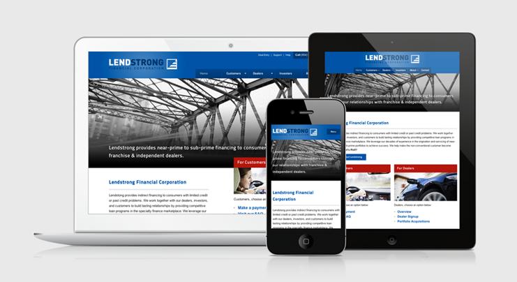 Lendstrong Website
